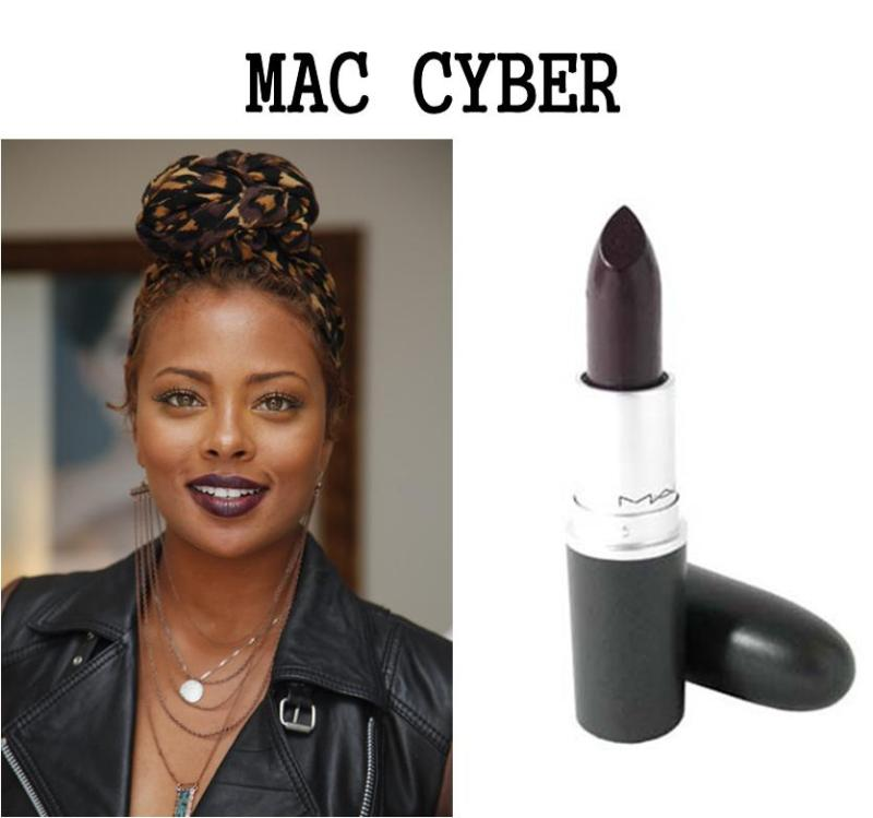 mac cyber on dark skin